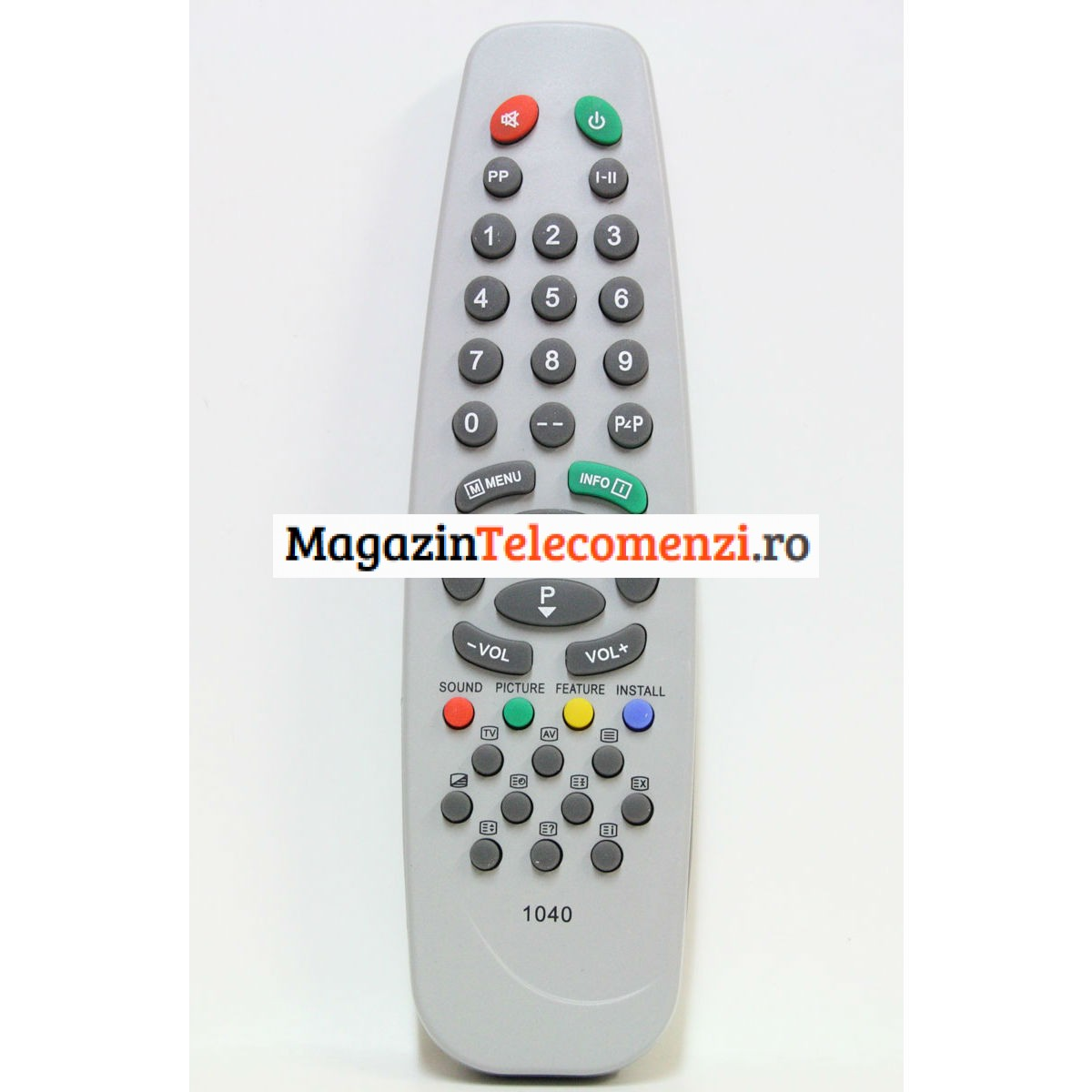 Telecomanda EUROCOLOR VESTEL 1040