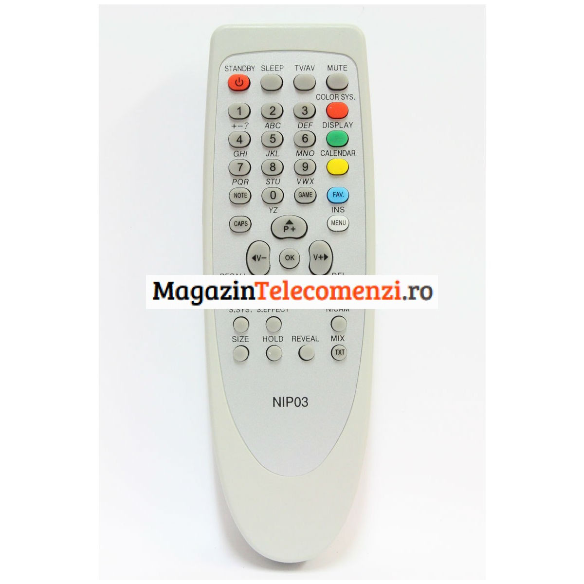 Telecomanda SCHNEIDER NIPON NIP 03