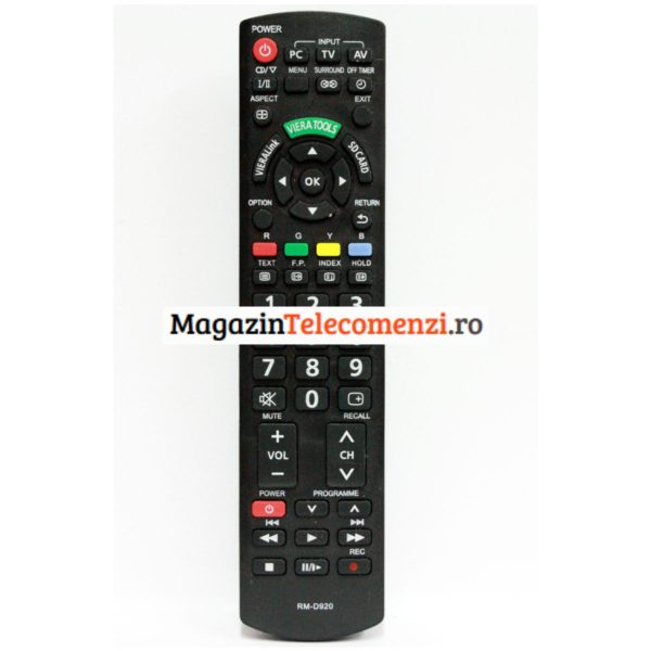 Telecomanda PANASONIC LCD RM -D920