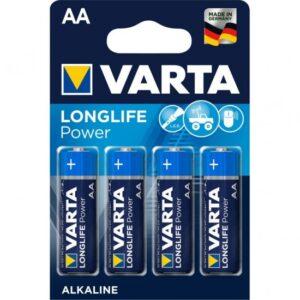 Baterii VARTA r6 AA blister 4 bucati