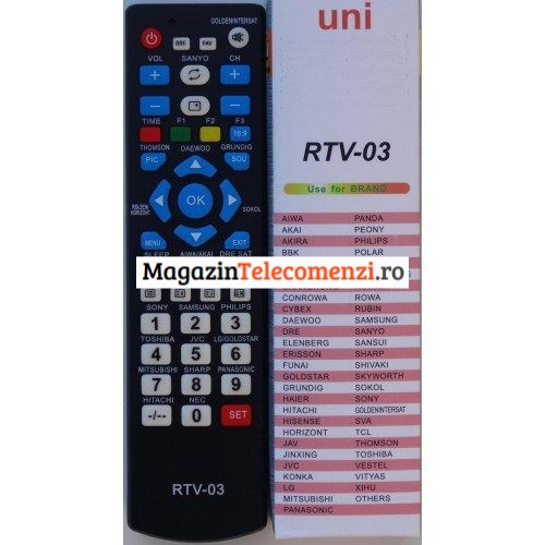 Telecomanda universala lcd led