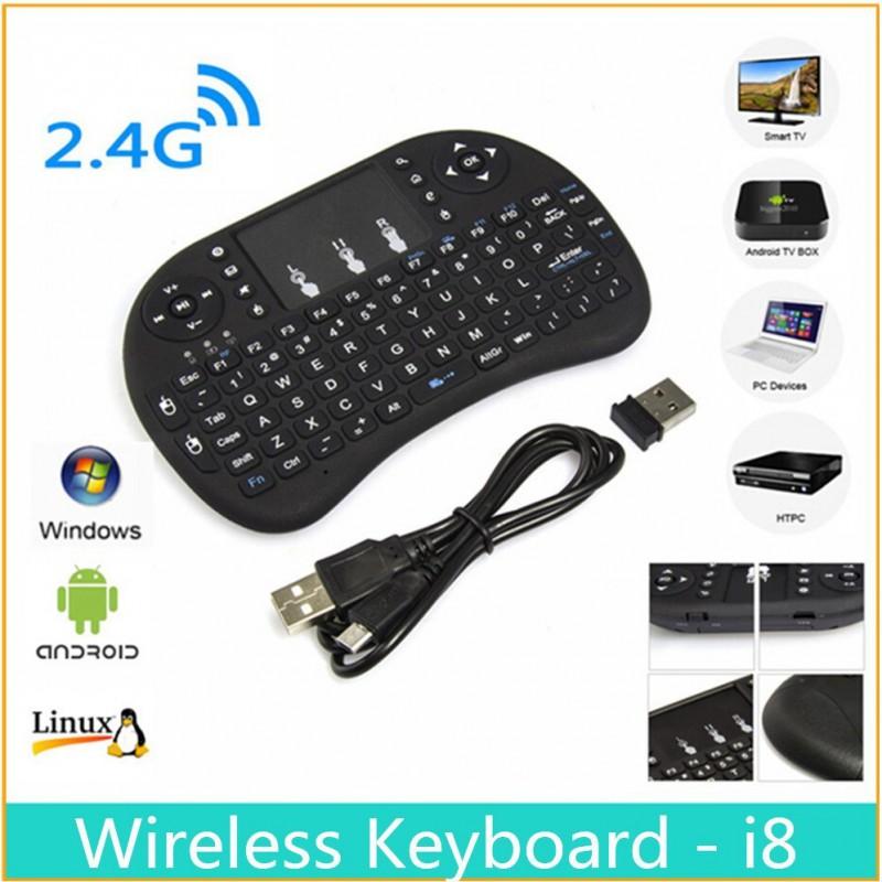 Telecomanda cu tastatura si touchpad mouse wireless