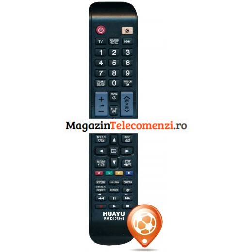 Telecomanda Samsung Smart Led cu buton Sport (Footbal)