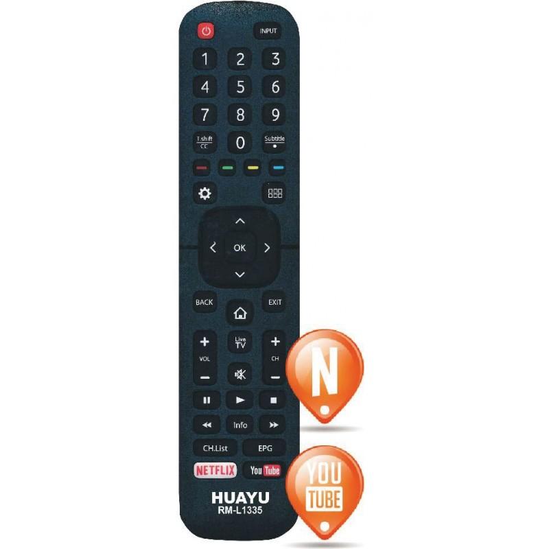 Telecomanda Hisense cu Netflix si YuoTube