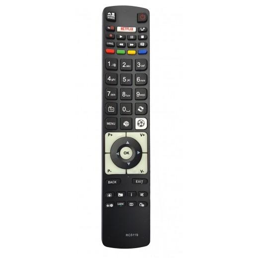 Telecomanda Akai cu Netflix si YouTube