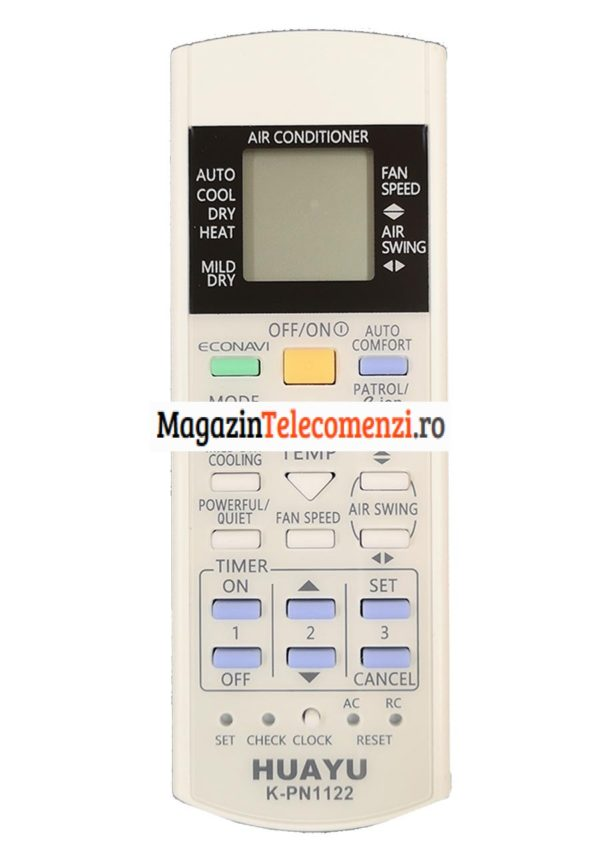 Telecomanda universala aer conditionat PANASONIC