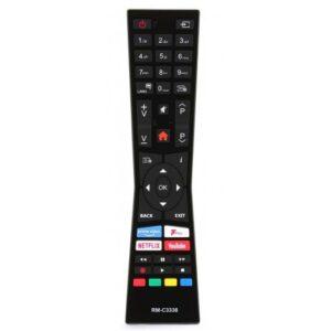 Telecomanda JVC RM-C3338 cu Netflix 4K